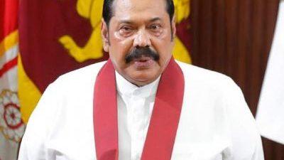Mahinda Rajapaksa sworn in as Sri Lanka's PM after record…