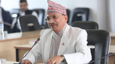 CIAA Chief Ghimire tested positive for coronavirus