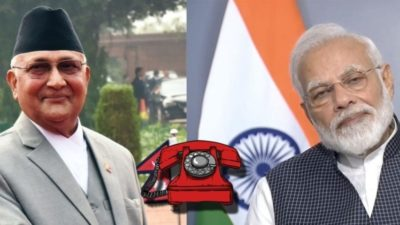 After four months of standoff, Oli holds phone conversation with…