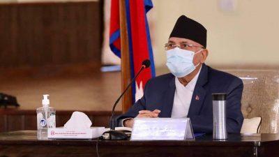 PM Oli submits 18-point written response on HoR dissolution case