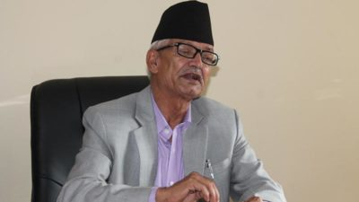 CM Poudel pledges to provide sufficient budget in the fight…