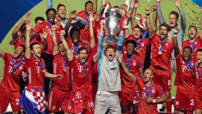 Bayern, the champions of Europe