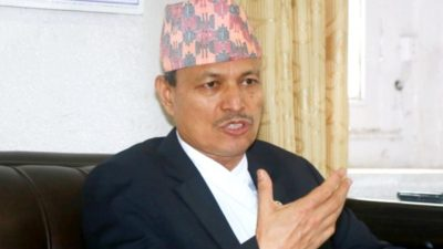 NCP Leader Rawal reiterates his stand against MCC Compact