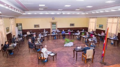 Cabinet meeting to appoint Nepal Electric Authority's MD scheduled for…