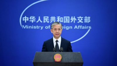 China opposes U.S. threats against tech companies: spokesperson