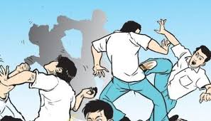 Five injured in clash between two youth groups
