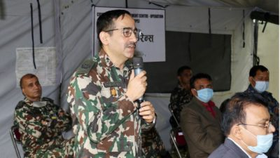 Nepal Army's Brigadier General Bigyan Dev Pandey gets promoted to…