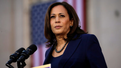 US presidential candidate Biden picks Kamala Harris as running mate