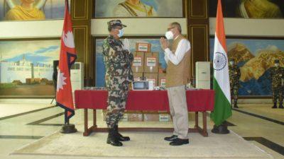 Indian Army gifts 10 ICU Ventilators to Nepali Army
