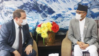 Vaccine prepared by Russia will be provided to Nepal, says…