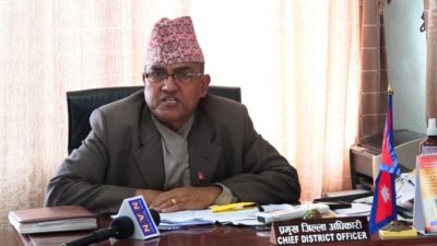 CDO Dahal: Let's mobilize army at checkpoints of valley, create…