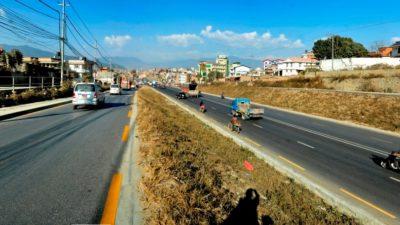 3 year long service track construction under Koteshwor-Kalanki road not…