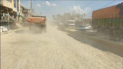 Many foreign assistance-funded road projects halted due to covid