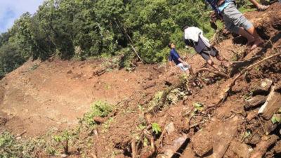 Seven settlements at high risk of landslides in Parbat