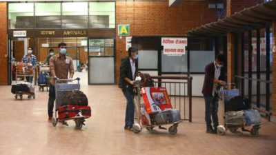 60 Nepali migrants including domestic workers repatriated from Oman