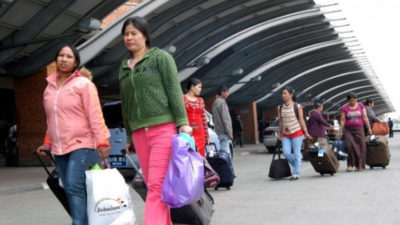 175 Nepali migrant workers return home from Oman