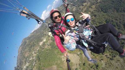 Interview with Nepal's first female paragliding pilot on World Tourism…