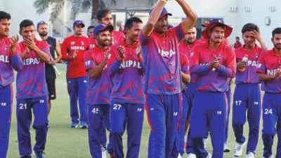 Nepal's climbs a notch up in T-20 ranking, ranked 13th