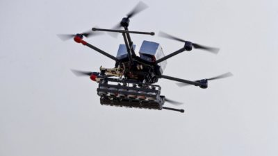 Chinese army uses drones to deliver vital goods to troops…
