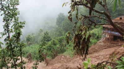 Landslide claims two lives in Gulmi