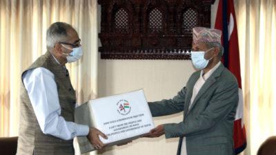 India provides Nepal 2000 vials of Remdesivir
