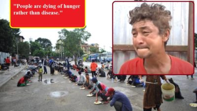 Hungry people out on streets, but the government nowhere to…