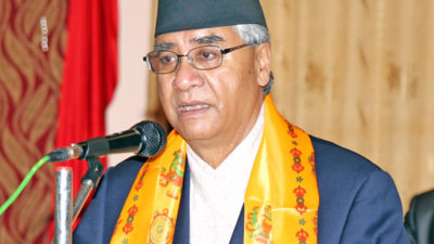 Attract women's votes to become PM: Deuba