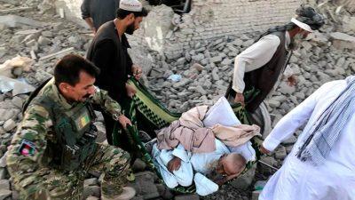 10 Afghan Soldiers, 3 Civilians Killed In Roadside Blast In…