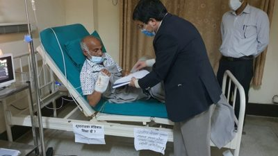 NC demands govt to implement agreement with Dr KC