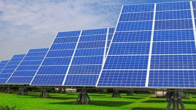 Solar energy sets distributed