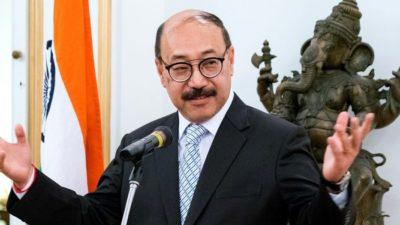 Indian Foreign Secretary Harsh Vardhan Shringla set to visit Nepal…