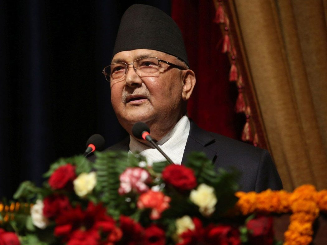 Democracy turns fruitful when connected to people's lives : PM Oli
