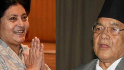 President Bhandari meets Bamdev Gautam as tensions in main ruling…
