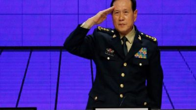 Chinese Defense Minister Fenghe arrives in Kathmandu for one-day visit