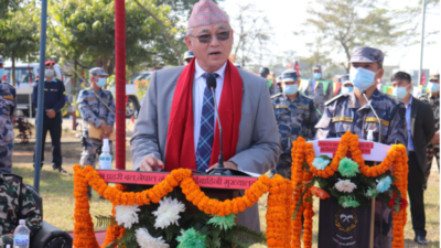 Anti-govt activities mirage for some groups: Home Minister Thapa