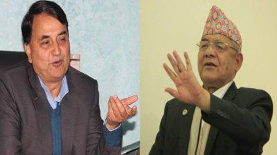 Oli's confidante Pokharel proposes Bamdev Gautam to become Prime Minister…