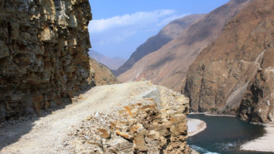 Karnali province government blacktops 21 Kms road in one year