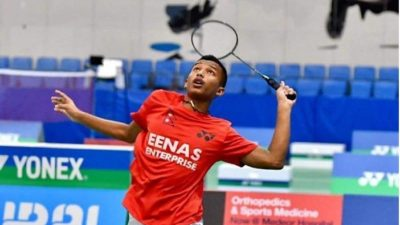 Prince climbs to third place in junior badminton world ranking