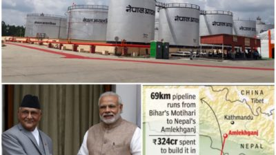 Nepal-India petroleum pipeline saves over a billion rupees in transportation…