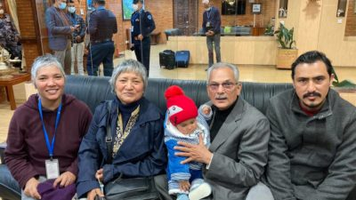 Former PM Bhattarai flying to India for medical treatment