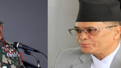 Why did Army Chief Thapa meet  Chief Justice Rana?