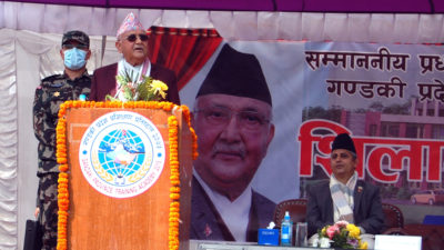 Development efforts go on from all local levels: PM Oli