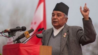 Senior leader Poudel vows to continue striving for democratic values