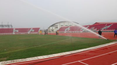 Mini stadium being constructed in Hetauda