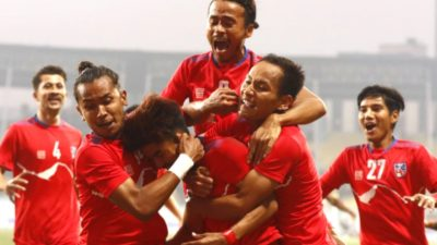 Govt to provide Rs 400 thousand each to winner Nepali players of Three Nations Cup Football