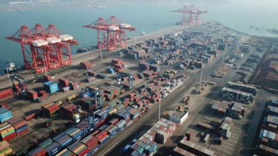 China's foreign trade up 28.5 pct in Jan.-April
