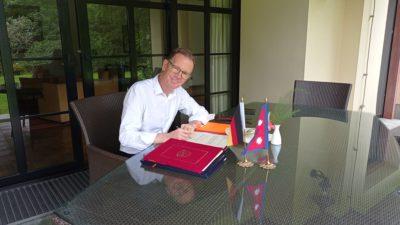 Germany pledges 4.8 billion grant aid to Nepal