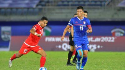 FIFA World Cup Asian Qualifying Match: Nepal beat Chinese Taipei