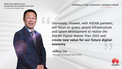 Huawei vows to empower ASEAN's green development with digital power…