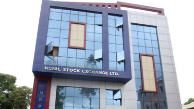 Nepse index gains double digit points